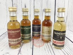 SET OF 5 GLENDRONACH