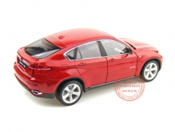 BMW X6 RED 1:24 (WELLY)
