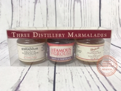 Three Distilerry Marmalades from Famous Grouse