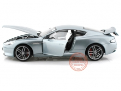 ASTON MARTIN DB9 COUPE SILVER 1:18 (WELLY)