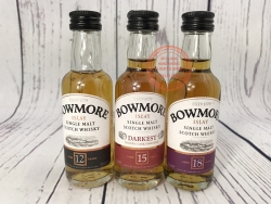 SET OF BOWMORE SINGLE MALT SCOTCH WHISKY