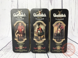 SET OF GLENFIDDICH CLANS OF THE HIGHLAND OF SCOTLAND