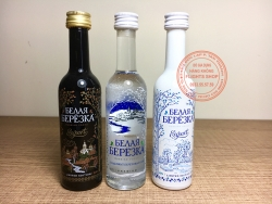 SET OF PREMIUM RUSSIAN VODKA