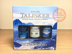SET OF TALISKER SINGLE MALT SCOTCH WHISKY