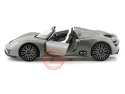 PORSCHE 918 SPYDER GREY 1:24 (WELLY)