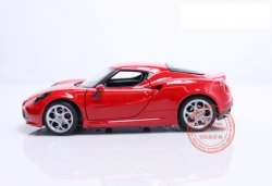 ALFA ROMEO 4C RED 1:24 (WELLY)