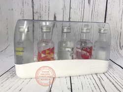SET OF ABSOLUT FLAVOURED VODKA GIFT PACK