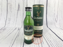 Glenfiddich 12, New Version 2017, with tube