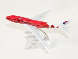 B747 Malaysia Hibiscus (Special Edition) 16cm