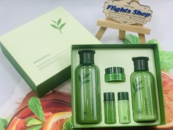 SET DƯỠNG DA TRÀ XANH INNISFREE GREEN TEA BALANCING SPECIAL SKIN CARE 5IN1 FULL SIZE