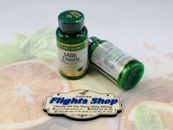Viên uống bổ gan, thải độc và hạ men gan Milk Thistle Nature's Bounty, hộp 100v, hàng Mỹ