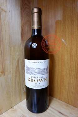Vang trắng Chateau Brown 2014 Pessac - Léognan 750ml